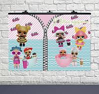 Плакат для свята Ляльки ЛОЛ-2 75×120см укр