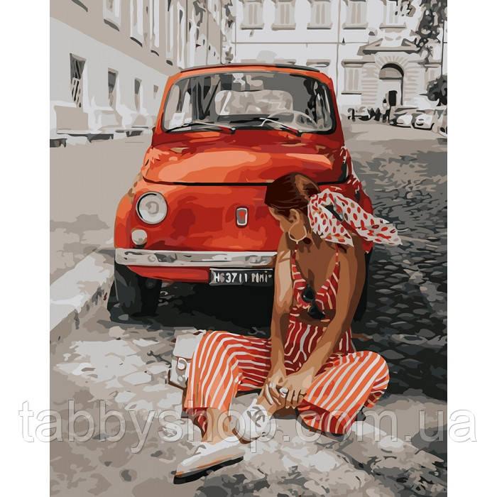 Картина по номерам Идейка - Лето в Монако