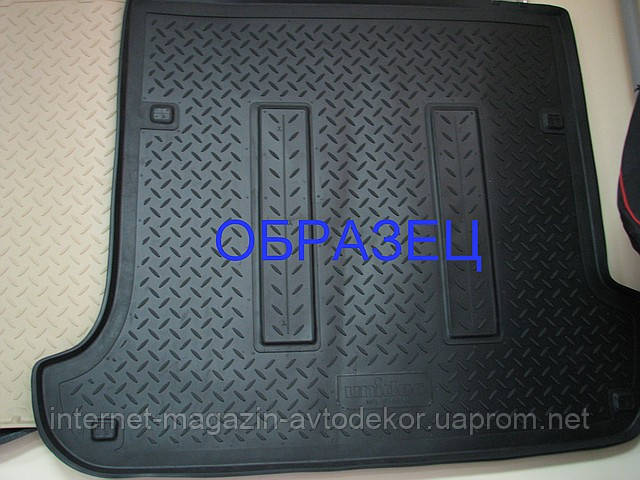Коврик в багажник для Daewoo (Дэу), Норпласт