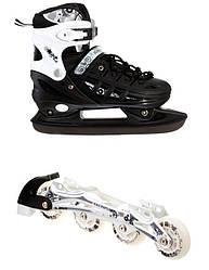 Роликовые коньки Scale Sport 2in1 34-37 Black 1564908596-M, КОД: 1197934
