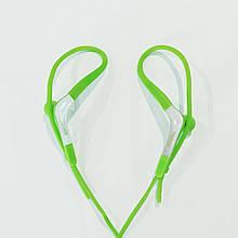 Спортивные проводные наушники Yookie YK-470 с микрофоном Зеленый