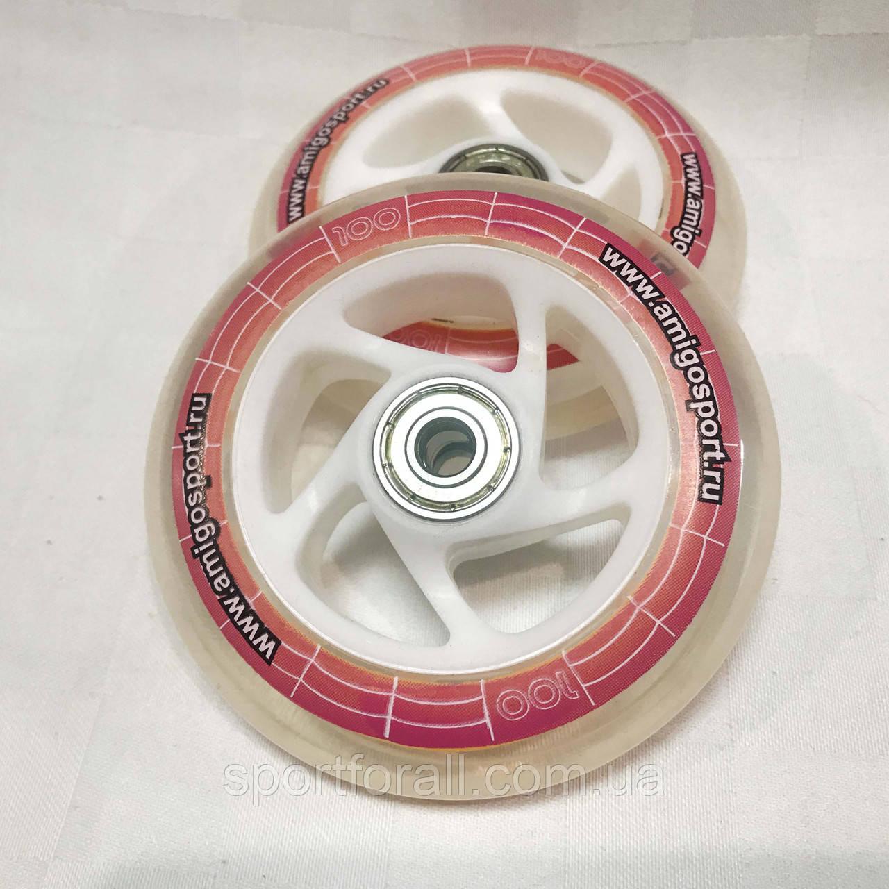 Колеса для самоката с подшипником 608-ZZ Explore Scooter Wheels 100мм (2шт)