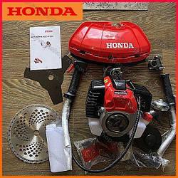 Бензокоса Honda RBC 525 L. Мотокоса. Мототриммер. Триммер для сада. Коса. Мотокоса