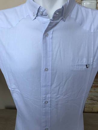 Батальная льняная рубашка с коротким рукавом G-port, фото 2