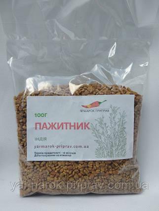 Пажитник (шамбала, фенугрек, чаман) насіння, 100г, фото 2
