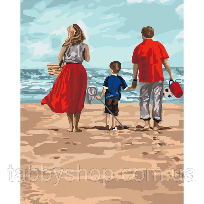 Картина по номерам Идейка - Семейный отдых
