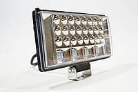 Фара LED прямоугольная 204W 6000K (68 диодов) (ближний + дальний+стробоскоп(синий с с