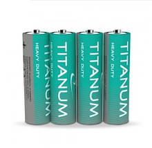 Батарейка пальчиковая щелочная Titanum LR6