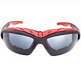 Спортивные очки Artorign Черный+Красный, фото 2