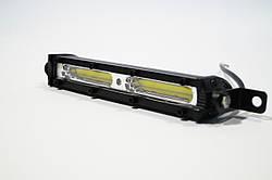 Фара LED прямоугольная 20W (плоская) (2 диода) (chip COB-D1) (2 диода) (18.5см х 5см х 3см)
