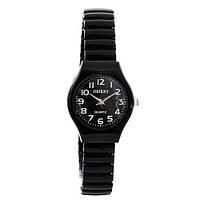 Часы наручные Oriext 3808-14 Круг черн.+бел жен., наручные часы, браслет на часы, ремешок на часы