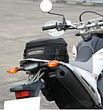 Прочная мото сумка на хвост (заднее сидение) RR9018 20х30х(20-25)см, фото 2
