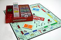 Настольная игра монополия экономическая игра с ускоренным кубиком настольная до 8 игроков. качество Т