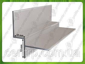 Алюминиевый профиль для теневого шва 10 мм - АПТШ 10
