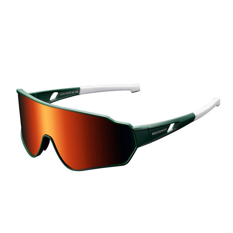 Велосипедные очки Rockbros RB-SP203 зеленые