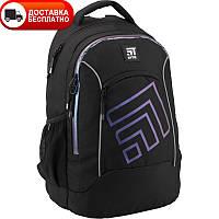Ортопедический школьный рюкзак в спортивном стиле с дышащей спинкой из прочного полиэстра  Kite
