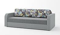 Диван Балтика. Прямой раскладной диван