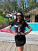 Хит лета 2021 платье футболка свободное с рисунком, фото 5