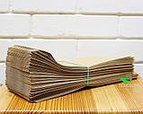 Крафт пакет бумажный 100х300х40 мм, 100 шт, фото 2