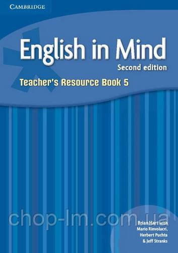 English in Mind Level 5 (Second Edition) Teacher's Resource Book / Книга для учителя. Автор: Brian Hart