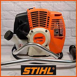 Мотокоса бензиновая StihlFS 350 ( Бензокоса Штиль ФС 350) 4 кВт/5.5 л.с. Коса штиль. Триммер. Бензотриммер.