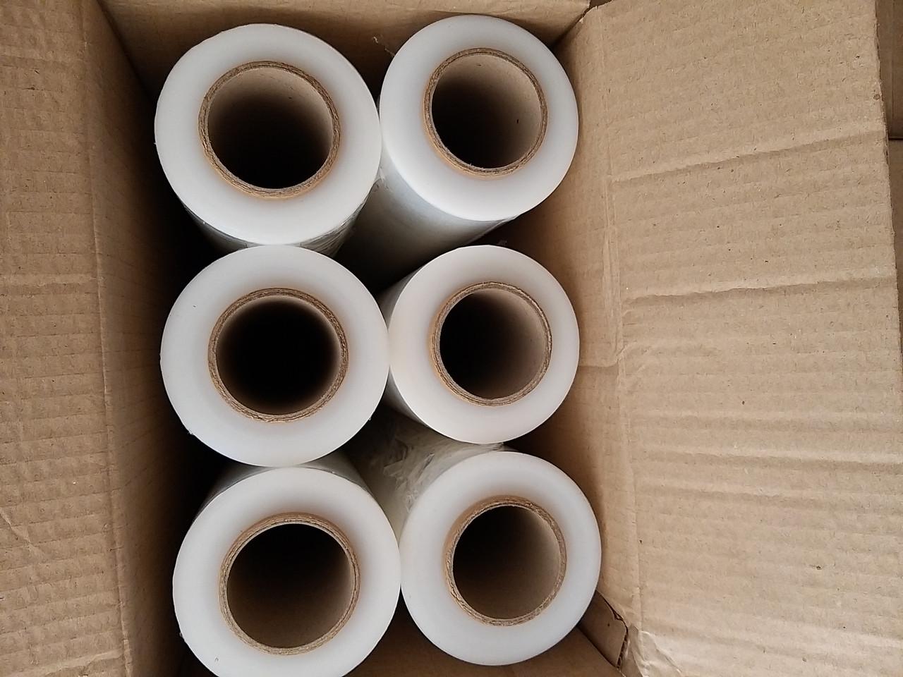 Купить стрейч плёнку прозрачную, чёрную в Харькове