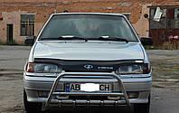 Кенгурятник с грилем (защита переднего бампера) ВАЗ 2115 (LADA)