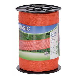 Тесьма для электропастуха BASIC 40 мм, 200 м