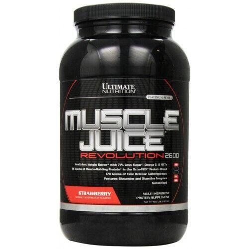 Гейнер, Muscle Juice 2600 Revolution 2120 грамм, Банан