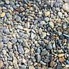 Галька серая речная  3-5 мм.