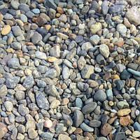 Галька серая речная  3-5 мм., фото 1