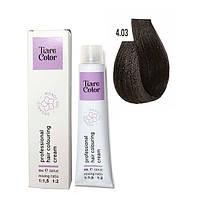 Крем-фарба для волосся Tiare Color 60 мл 4.03 Warm brown