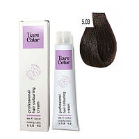 Крем-фарба для волосся Tiare Color 60 мл 5.03 Warm light brown