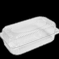 Контейнер-Упаковка РЕТ с крышкой HF 35-1, 1700 мл. 227*127*85мм, 1уп/25шт (1ящ/16уп/400шт)
