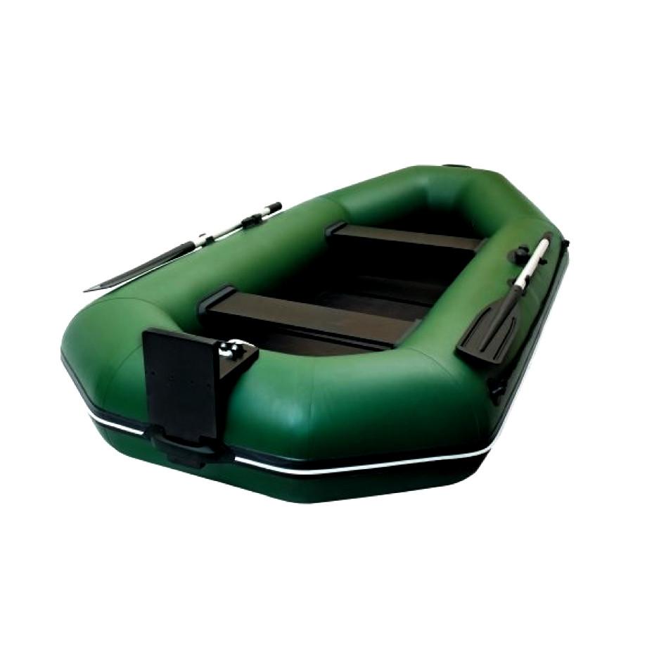 Надувная гребная лодка Ладья ЛТ-290ЕВТБ со слань-книжкой