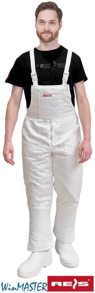 Утеплённые брюки на помочах типа SMO-WHITE W
