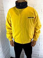 Мужская куртка желтая WUBAI500