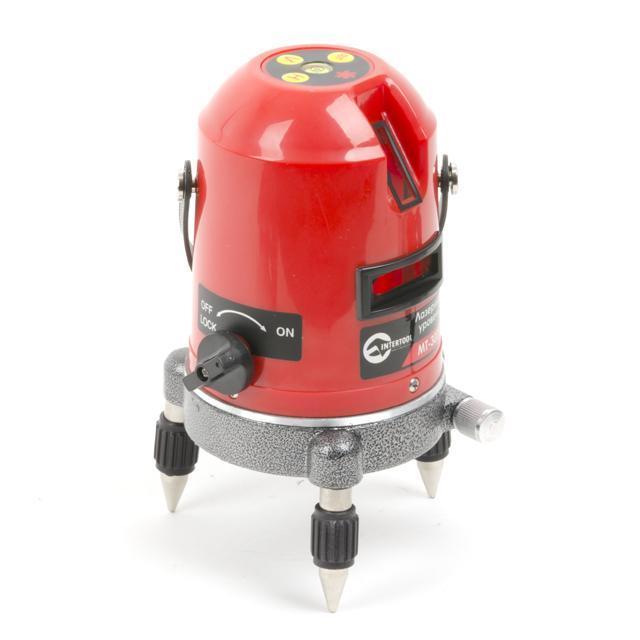 Уровень лазерный INTERTOOL (2 лазерные головки)  MT-3009