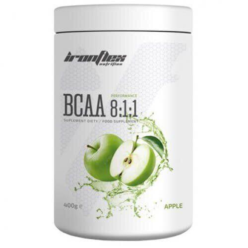 БЦАА Айрон Флекс, IronFlex BCAA 8-1-1 Performance 400 грам, Пінаколада