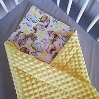 Одеяло конверт пледик детский