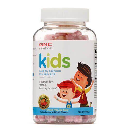 GNC Kids Gummy Calcium 120 жевательных конфет