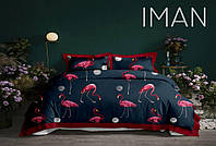 Двуспальный Комплект постельного белья IMAN из Бязи, Хлопок GOLD LUX Постільна білизна