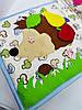 Развивающая Mягкая Книжка из Фетра, Мягкая текстильная книжка handmade (RB01038), фото 3
