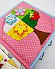 Развивающая Mягкая Книжка из Фетра, Мягкая текстильная книжка handmade (RB01038), фото 6