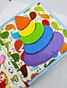 Развивающая Mягкая Книжка из Фетра, Мягкая текстильная книжка handmade (RB01038), фото 5