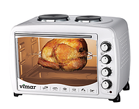 Духовая печь Vimar VEO-55100W ( 55л, 2000 Вт)