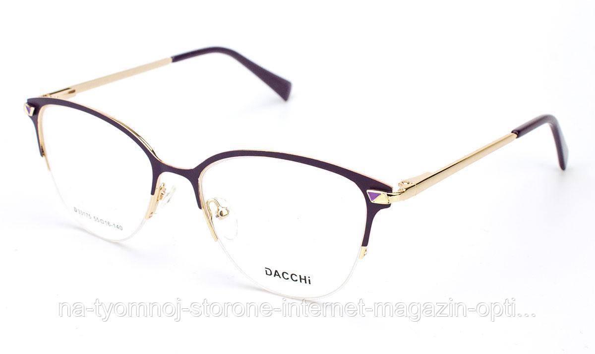 Оправа для очков металлическая Dacchi D33175-C7