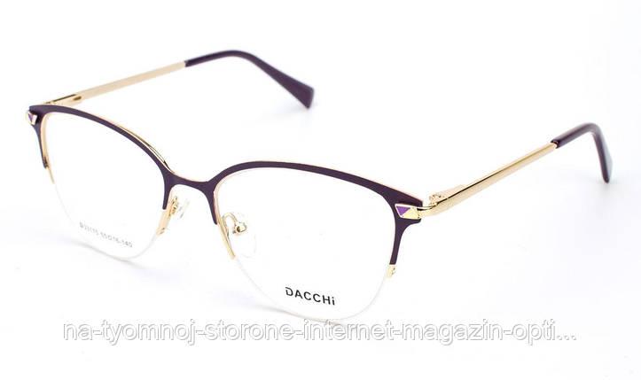 Оправа для очков металлическая Dacchi D33175-C7, фото 2