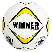 Мяч футбольный Winner PLATINIUM Fifa inspected №5, PU, белый (ФС W-PLATINIUM)