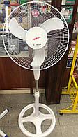 Вентилятор підлоговий Ardesto FN-1608RW (45Вт., d40см, 3 швидк., круг.опора)